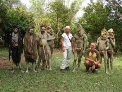 Mudmen in Papua New Guinea. Click to enlarge.