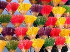 New colorful incense sticks for sale. Click to enlarge