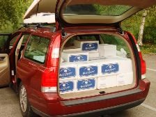 The car is loaded with great wines from Burgundy and Champagne. Click to enlarge.